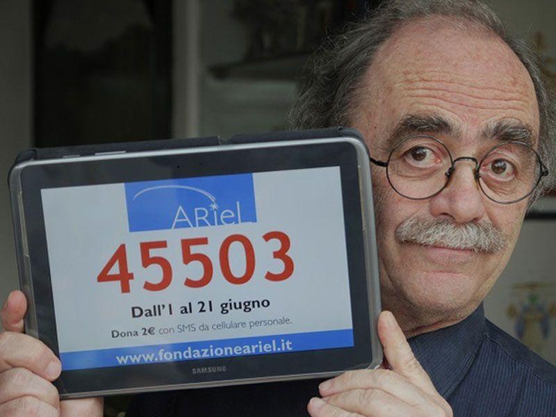 maurizio nichetti sms fondazione ariel paralisi cerebrale