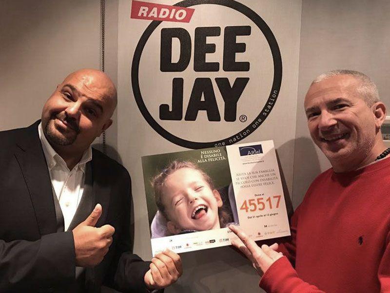 Radio DeeJay SMS Fondazione Ariel