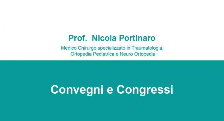Convegni e Congressi Prof Nicola Portinaro