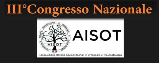 Congresso Nazionale AISOT 2016 Portinaro