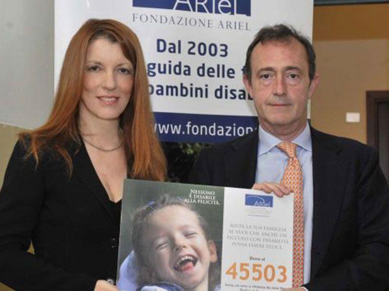 Nicola Portinaro Vittoria Brambilla SMS Fondazione Ariel