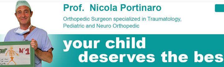 Canale YouTube Prof Nicola Portinaro Chirurgo Ortopedico Pediatrico