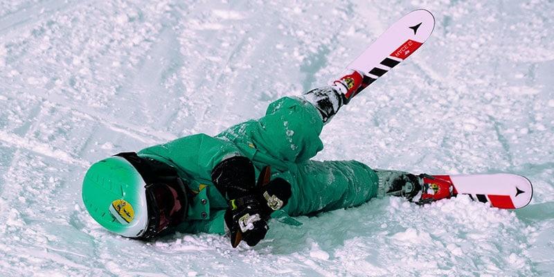 Skiing injures